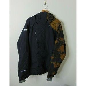 Volcom M Omega Gore-Tex Black Shell Jacket Black